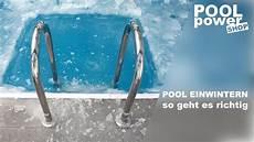 Pool Winterfest Machen F 252 R Weniger Arbeit Im Fr 252 Hjahr