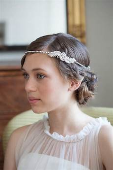1930s Style Wedding Hair Accessories 1920s wedding headpiece downton style great