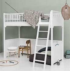 hoch bett hochbett von oliver furniture in 90 x 200 cm incl
