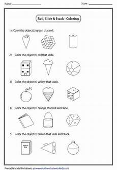 shapes objects worksheet 1222 coloring object shapes lessons 3d shapes worksheets