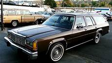 1987 Ford Crown Victoriia Ltd Station Wagon Estate 1