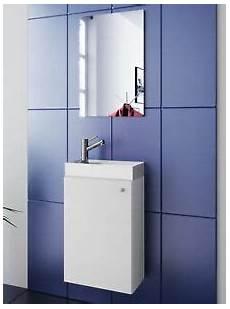 Gästebad Waschtisch Schmal - waschplatz wei 223 waschbecken mit schrank spiegel wc g 228 ste