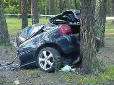 Unfall A 4 - car crash audi a3 1 8t i think smashed to pieces