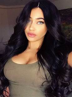 charming natural deep wavy black long synthetic hair lace front cap 26 inches wigsbuy com