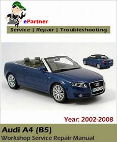 car repair manuals online free 2008 audi a4 electronic throttle control audi a4 b7 service repair manual 2002 2008 automotive service repair manual