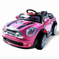 kinderauto mini style f 252 r m 228 dchen 5388 2 x 30 watt motor
