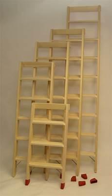 holzleiter selber bauen stufenleiter holz anlegeleiter
