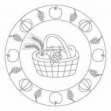 kindergarten herbst erntedank mandala erntedank im