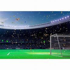 3x5ft Football Field Celebration Theme Photography by Vinyl Photography Background Football Field Soccer Match