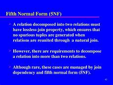 normalisation slides 1 nf to 5nf