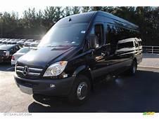 2011 Black Mercedes Benz Sprinter 3500 High Roof Cargo Van