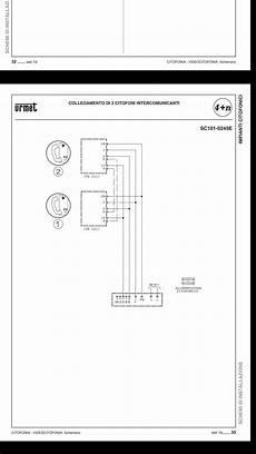 citofono urmet1150 1 con alimentatore urmet 786 11 schema intercomunicanti citofoni
