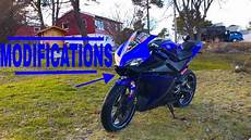 yamaha yzf r125 mods updated 2017