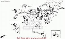 Honda Xr200r 1990 L Usa Wire Harness Buy Wire Harness