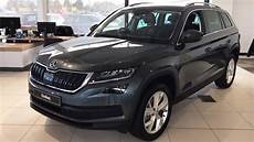 škoda kodiaq edition in quartz grey 2017 17 reg hd