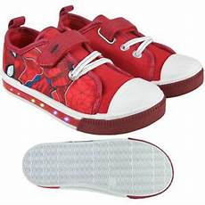 spiderman schuhe marvel spiderman schuhe sneaker canvas led