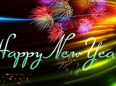happy new year new year greetings fireworks image hd wallpaper for laptop and tablet 1920x1200
