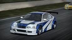 bmw m3 gtr nfs shift 2 unleashed bmw m3 gtr e46 most wanted edition