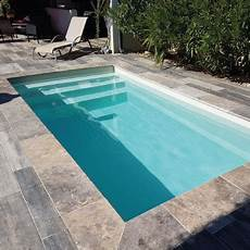mini piscine deva coque polyester 4 65m x 2 15m fond plat