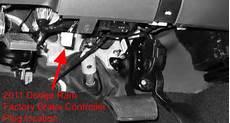 2011 dodge ram trailer brake wiring location of brake controller connection point on a 2011 dodge ram 1500 etrailer