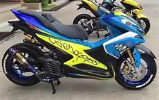 Modifikasi Aerox 2019 by Modifikasi Yamaha Aerox Paling Keren Terbaru 2019 Otomaniac