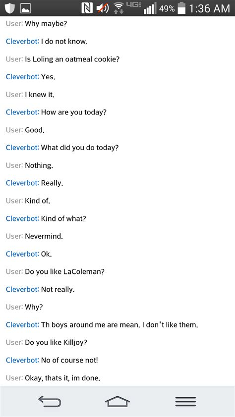 Cleverbot Evie Game