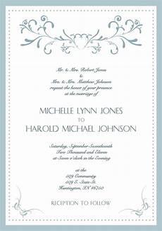 How To Write A Wedding Invitation