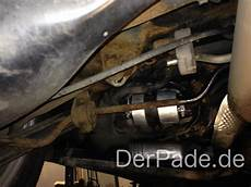 anleitung w203 m271 kraftstofffilter wechseln