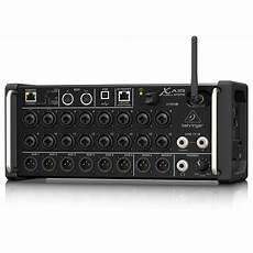 behringer xr18 air behringer x air xr18 digital mixer box opened at gear4music