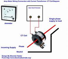 meter wiring with current transformer in urdu hindi electrical tutorials urdu hindi