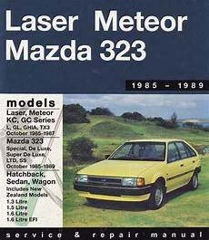 online auto repair manual 1985 ford laser electronic toll collection mazda 323 fwd ford laser kc meteor gc 1985 1989 0855667486 9780855667481 gregory s