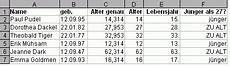 alter aus geburtsdatum berechnen per tabellenkalkulation