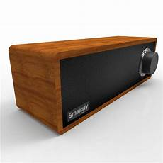 Smalody Retro Wooden Fabric Bluetooth Speaker by Smalody Bluetooth Speaker Portable Wooden Wireless Headset