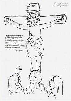 the house of h 228 usl vad jesus on the cross ausmalbilder