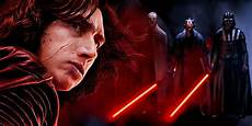 star wars 8 proves kylo ren is a sith screen rant