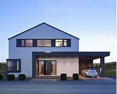 exemple maison moderne concept m 172 строительство facade house carport