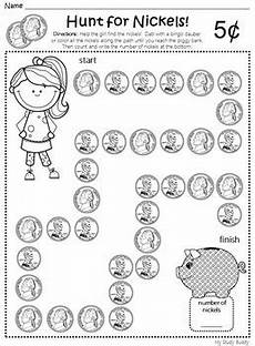 money worksheets for nursery 2259 money worksheets kindergarten by my study buddy tpt