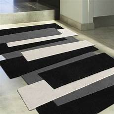 tapis de luxe design fantaisie noir pebbles rectangulaire