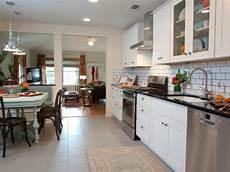 Large Tile Kitchen Backsplash White Contemporary Kitchen With Large White Subway Tile