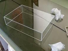 tape hinge acrylic box construction acrylic box diy shadow box diy box