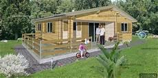 Chalet Bois En Kit 60 M2 3 Chambres Maisons Chalet