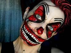 maquillage facile qui fait peur tuto clown mal 233 fique dans tous ses 233 tats