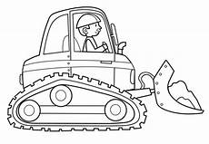 Ausmalbilder Haus Bauen Transportmittel Baggerfahrer Zum Ausmalen раскраски
