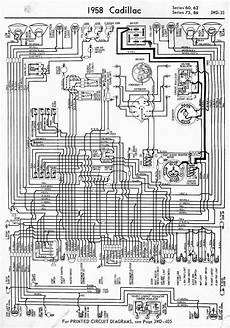 wiring diagram for 1958 cadillac 60 62 75 86 series