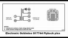 flyback transformer diagram finding flyback pin connections