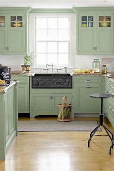 10 paint colors to try if you dream of a green kitchen kitchens kitchen styling painting