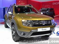 2016 Renault Dacia Duster Showcased Renault Launches