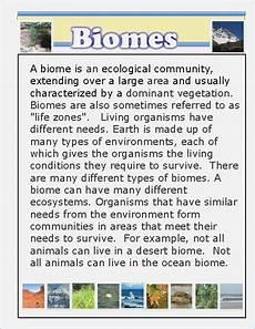 terrestrial biomes worksheets