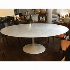 Table Salle A Manger Design Table De Salle 224 Manger Knoll En Marbre Eero Saarinen 1970 Design Market