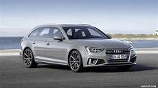 2019 Audi A4 Avant Color Quantum Gray Front Three